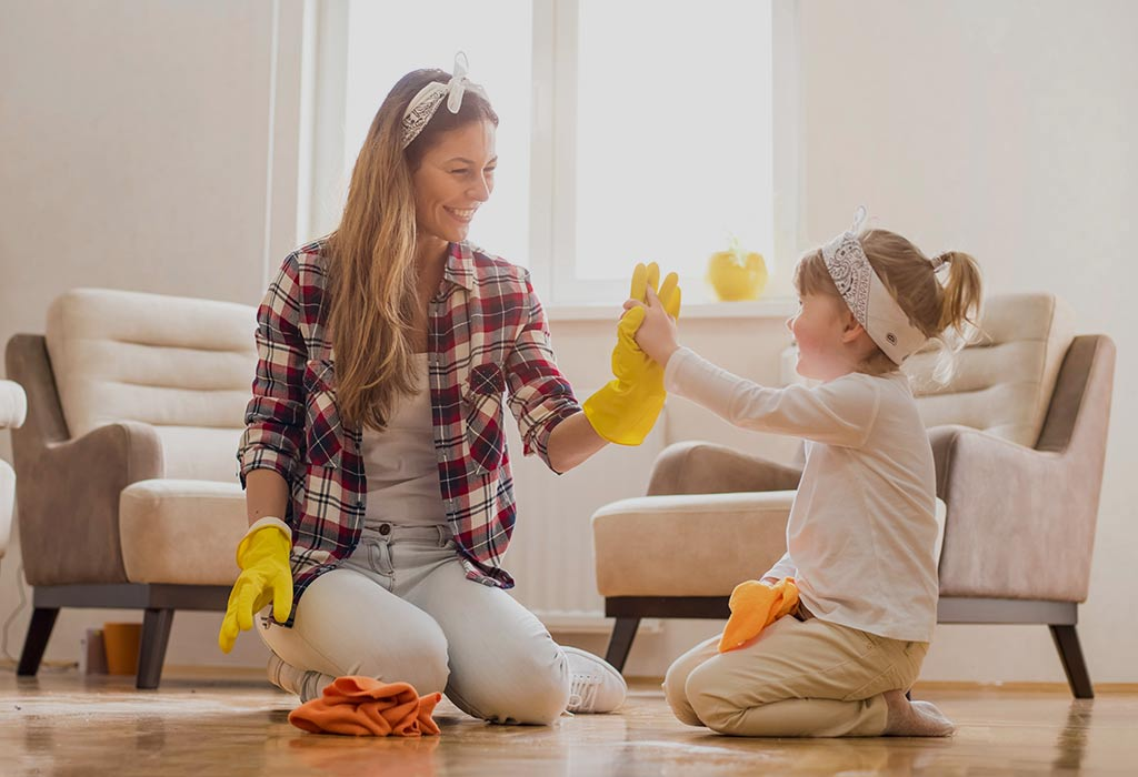 Tips For Making Cleaning Fun For Your Kids
