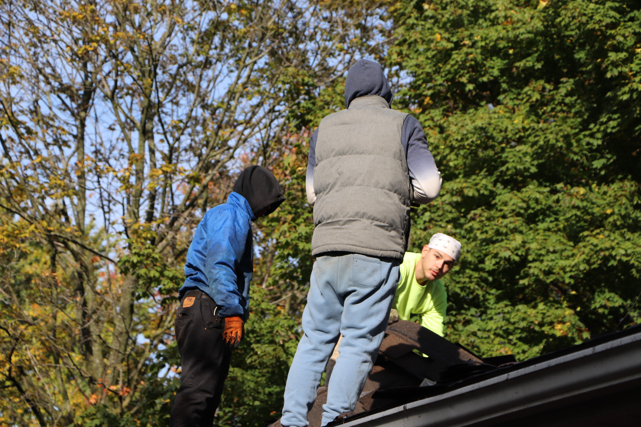 Roof Inspection AfterLeakage When It Rains